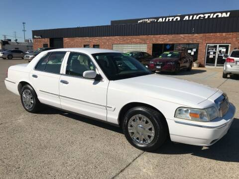 2007 Mercury Grand Marquis for sale at Motor City Auto Auction in Fraser MI
