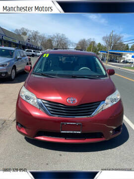 2011 Toyota Sienna for sale at Manchester Motors in Manchester CT