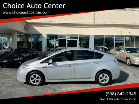 2015 Toyota Prius for sale at Choice Auto Center in Shrewsbury MA