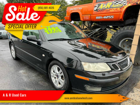 2006 Saab 9-3 for sale at A & R Used Cars in Clayton NJ