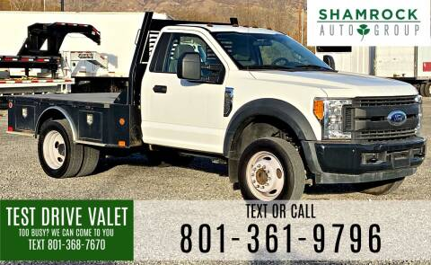 2017 Ford F-450 Super Duty for sale at Shamrock Group LLC #1 in Pleasant Grove UT