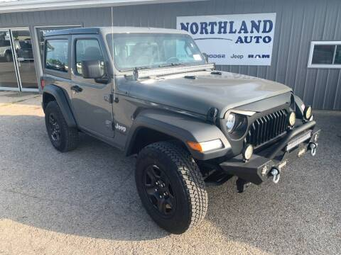 2018 Jeep Wrangler for sale at Northland Auto in Humboldt IA