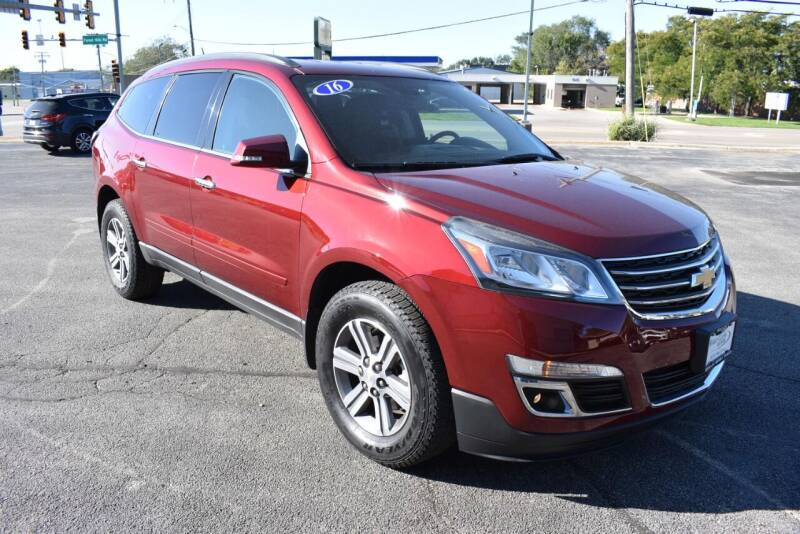 2016 Chevrolet Traverse for sale at World Class Motors in Rockford IL