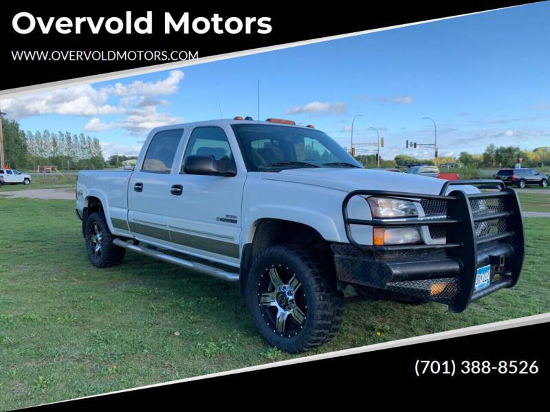 2004 Chevrolet Silverado 2500HD for sale at Overvold Motors in Detriot Lakes MN