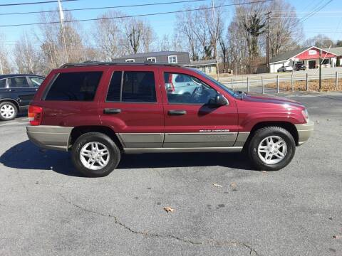 2003 Jeep Grand Cherokee for sale at Catawba Valley Motors in Hickory NC