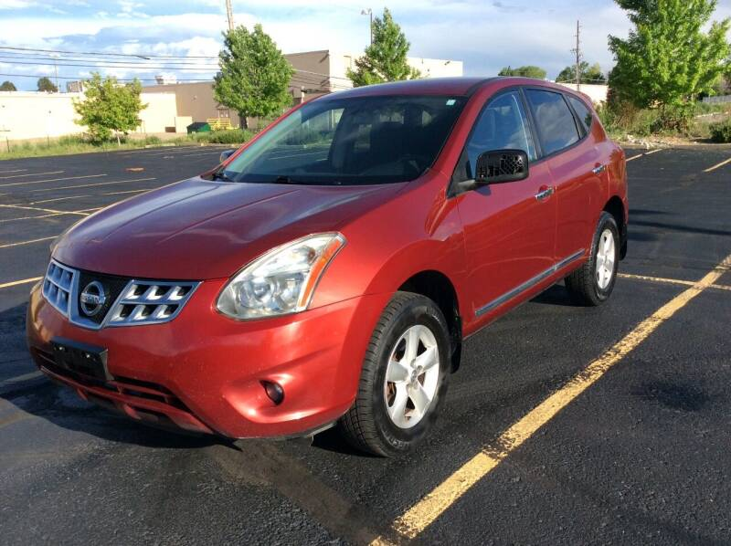 2012 Nissan Rogue for sale at AROUND THE WORLD AUTO SALES in Denver CO