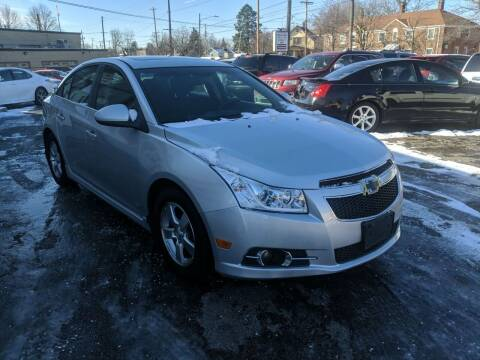 2012 Chevrolet Cruze for sale at Richland Motors in Cleveland OH