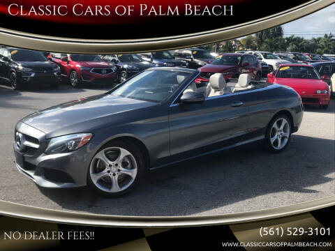 2017 Mercedes-Benz C-Class for sale at Classic Cars of Palm Beach in Jupiter FL