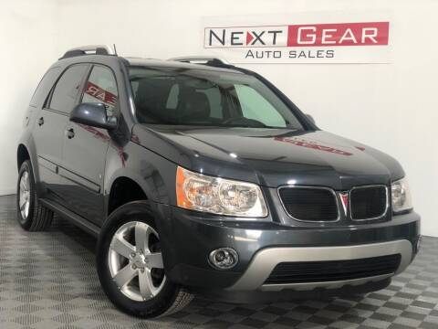 2009 Pontiac Torrent for sale at Next Gear Auto Sales in Westfield IN