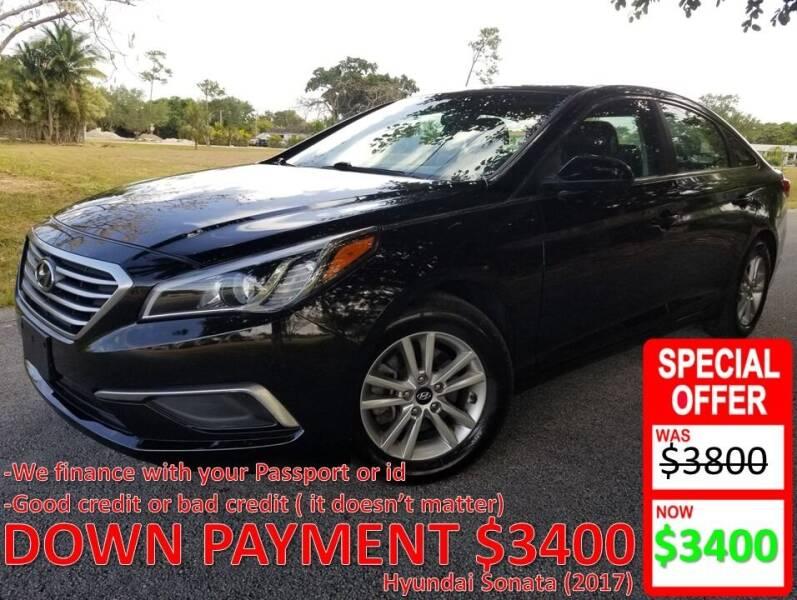 2017 Hyundai Sonata for sale at AUTO COLLECTION OF SOUTH MIAMI in Miami FL