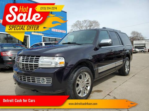 2007 Lincoln Navigator for sale at Detroit Cash for Cars in Warren MI