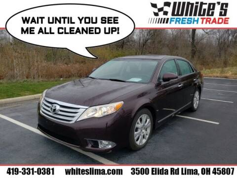 2012 Toyota Avalon for sale at White's Honda Toyota of Lima in Lima OH