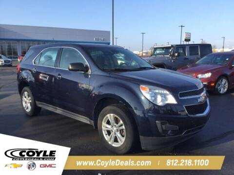 2015 Chevrolet Equinox for sale at COYLE GM - COYLE NISSAN in Clarksville IN