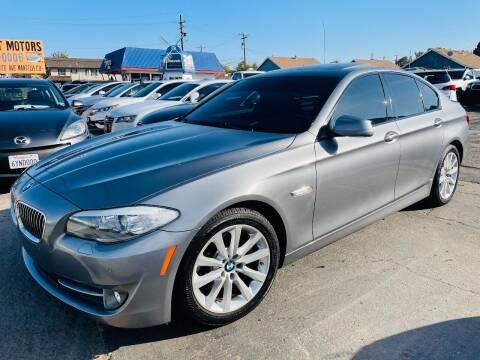 2012 BMW 5 Series for sale at Sunset Motors in Manteca CA