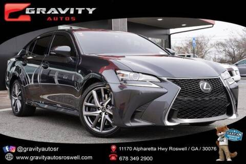 2017 Lexus GS 350 for sale at Gravity Autos Roswell in Roswell GA
