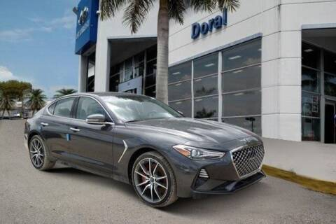 2019 Genesis G70 for sale at DORAL HYUNDAI in Doral FL