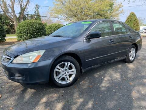 2007 Honda Accord for sale at Seaport Auto Sales in Wilmington NC