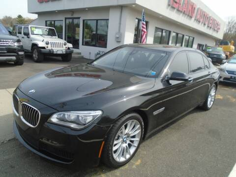 2014 BMW 7 Series for sale at Island Auto Buyers in West Babylon NY