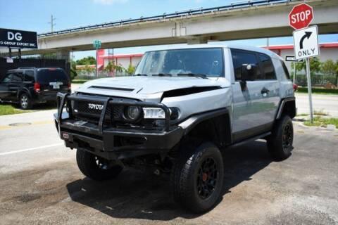 2013 Toyota FJ Cruiser for sale at ELITE MOTOR CARS OF MIAMI in Miami FL