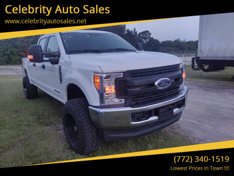 2017 Ford F-350 Super Duty for sale at Celebrity Auto Sales in Port Saint Lucie FL