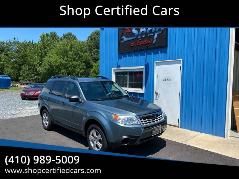 2011 Subaru Forester for sale at Shop Certified Cars in Easton MD