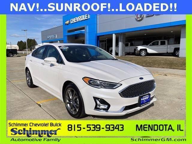 2020 Ford Fusion Hybrid for sale in Mendota, IL