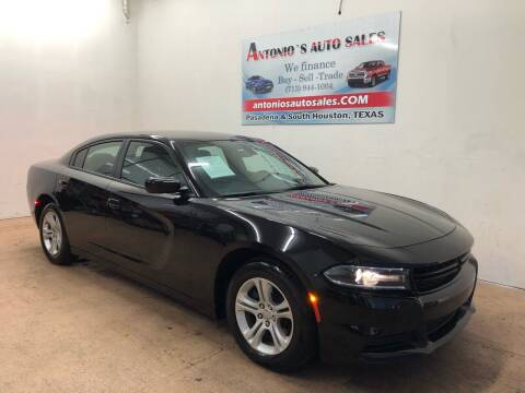 2020 Dodge Charger for sale at Antonio's Auto Sales in South Houston TX