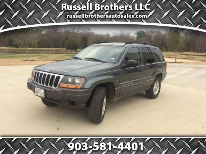 2002 Jeep Grand Cherokee for sale at Russell Brothers Auto Sales in Tyler TX