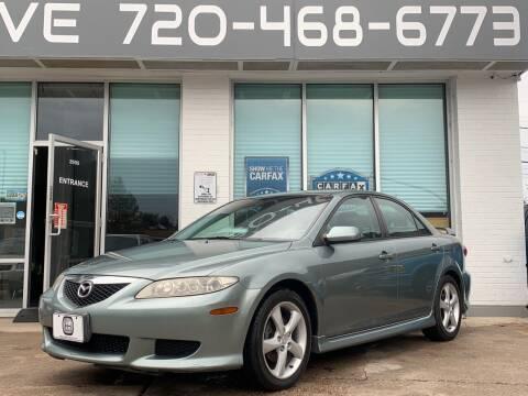 2004 Mazda MAZDA6 for sale at Shift Automotive in Denver CO