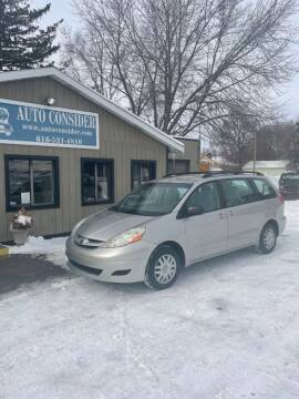 2010 Toyota Sienna for sale at Auto Consider Inc. in Grand Rapids MI
