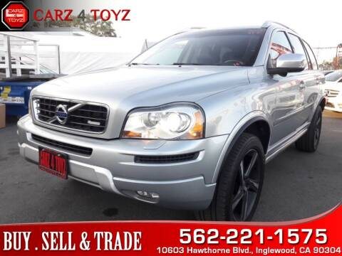 2013 Volvo XC90 for sale at Carz 4 Toyz in Inglewood CA