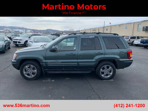 2004 Jeep Grand Cherokee for sale at Martino Motors in Pittsburgh PA