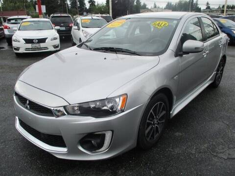 2017 Mitsubishi Lancer for sale at GMA Of Everett in Everett WA