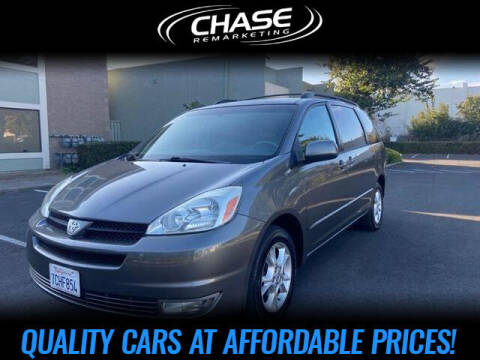 2005 Toyota Sienna for sale at Chase Remarketing in Fremont CA