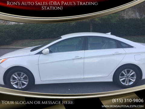 2013 Hyundai Sonata for sale at Ron's Auto Sales (DBA Paul's Trading Station) in Mount Juliet TN