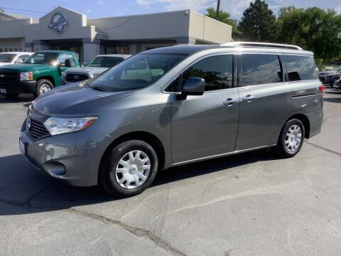 2015 Nissan Quest for sale at Beutler Auto Sales in Clearfield UT