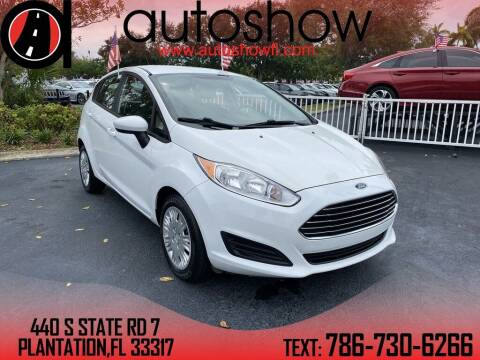 2016 Ford Fiesta for sale at AUTOSHOW SALES & SERVICE in Plantation FL