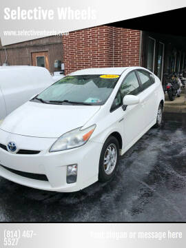 2010 Toyota Prius for sale at Selective Wheels in Windber PA