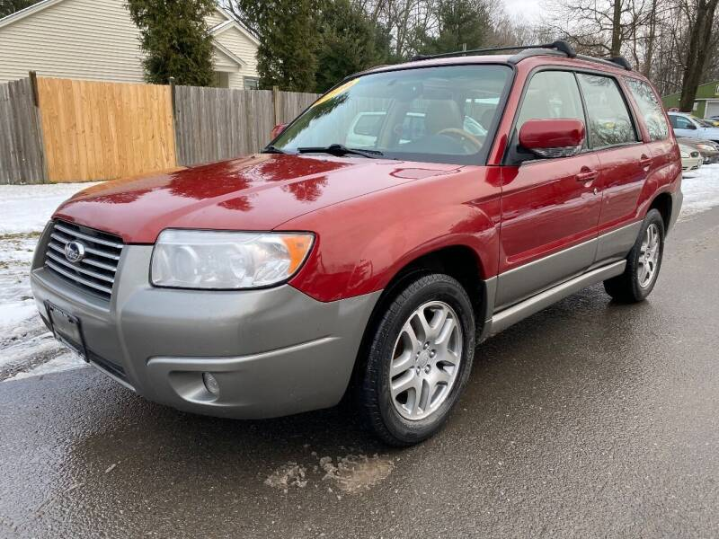 2006 Subaru Forester for sale at ALL Motor Cars LTD in Tillson NY