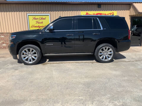 2015 Chevrolet Tahoe for sale at BIG 'S' AUTO & TRACTOR SALES in Blanchard OK