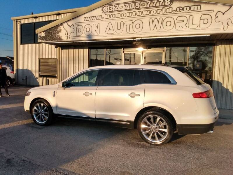 2012 Lincoln MKT for sale at Don Auto World in Houston TX