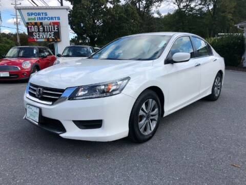 2015 Honda Accord for sale at Sports & Imports in Pasadena MD