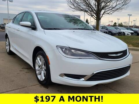 2017 Chrysler 200 for sale at Ken Ganley Nissan in Medina OH