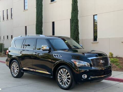 2013 Infiniti QX56 for sale at Auto King in Roseville CA