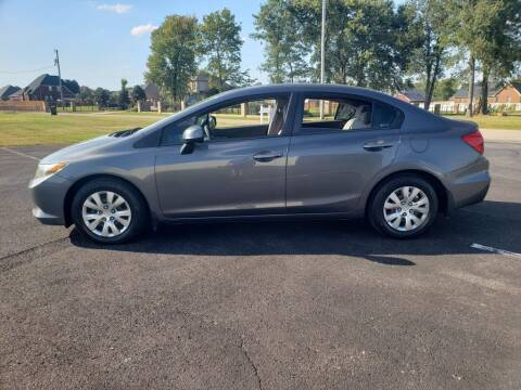 2012 Honda Civic for sale at Space & Rocket Auto Sales in Hazel Green AL
