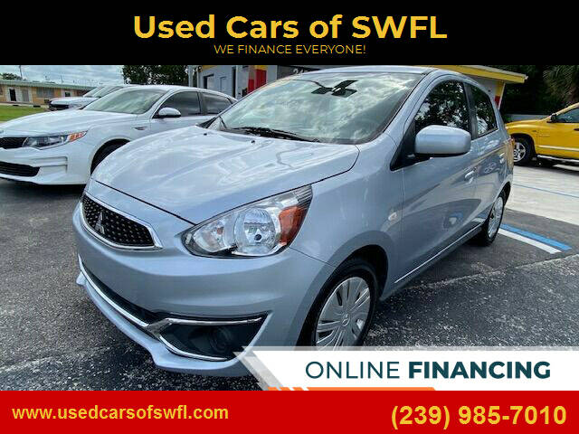 2018 Mitsubishi Mirage for sale at Used Cars of SWFL in Fort Myers FL