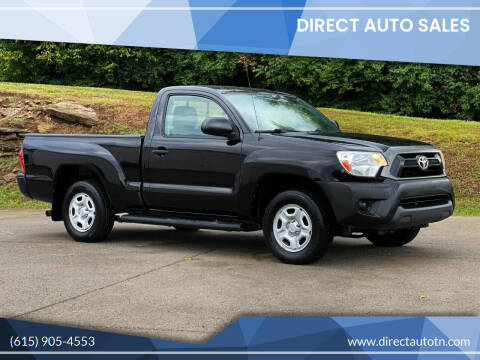 2012 Toyota Tacoma for sale at Direct Auto Sales in Franklin TN