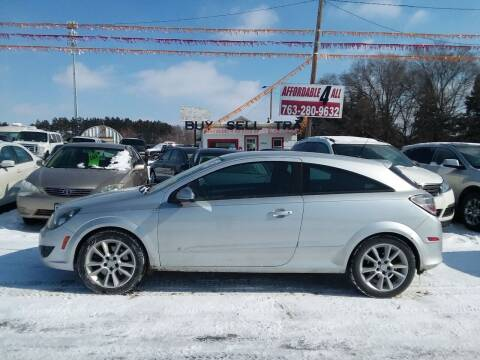 2008 Saturn Astra for sale at Affordable 4 All Auto Sales in Elk River MN