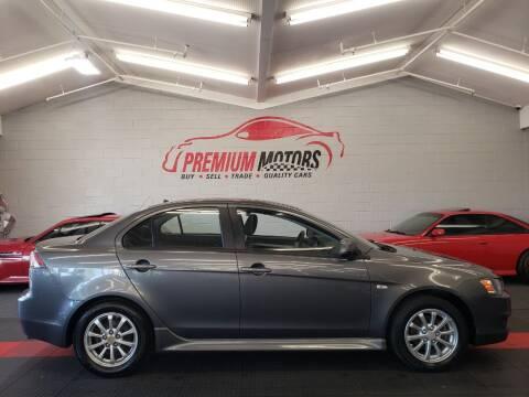 2011 Mitsubishi Lancer for sale at Premium Motors in Villa Park IL
