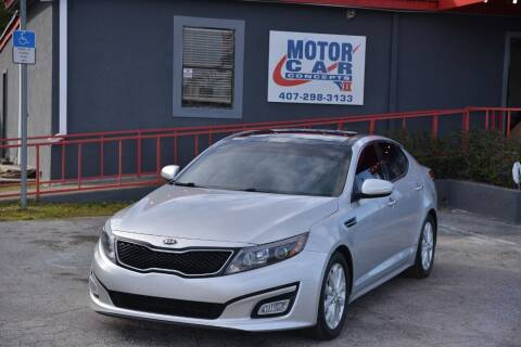2014 Kia Optima for sale at Motor Car Concepts II - Apopka Location in Apopka FL